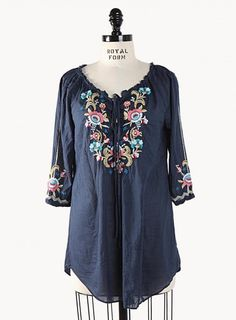 ree drummond tunics | Found on johnnywas.com
