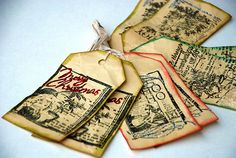 Handmade Christmas tags   Feelgood Giving: Holiday Gifts for the Eco-Minded   Feelgood Style