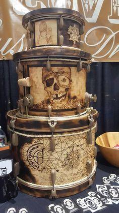 This is amazing! Drum Wrap, Rainy Day Movies, Drums Artwork, Drum Accessories, Pearl Drums, Drum Room, Drums Beats, Ceramic Texture, Vintage Drums