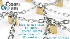 Popularisée par le développement du bitcoin, la technologie blockchain fait aujourd'hui l'objet de toutes les attentions. Cette présentation décrit les principes de fonctionnement d'une blockchain ainsi que quelques cas d'utilisation concrets en listant les impacts sur certains secteurs d'activité.