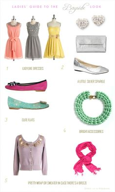 Ladies Guide to The Garden party Look: Dressing for a daytime spring wedding @ http://comicsqueers.tumblr.com #clothing #apparel #casual dresses #dress