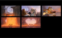 Ice Age #Concept #ColorKey #BlueSky Color Script, Animation Background, Ice Age, Animation Film, Storyboard, Short Film, Art Reference, Storytelling, Concept