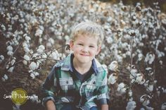 Sweet boy in a cotton field. #sweettphotography #cottonfield #murfreesborophotographer