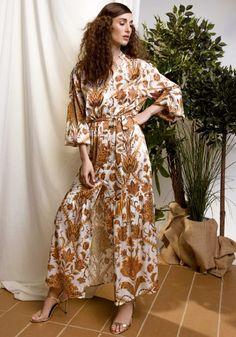 8d940727a2a3 Φόρεμα DejaVu maxi φλοράλ Boho - Miss Pinky  fashionista  dress  girls   mystyle