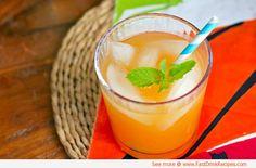 Beach Party Cocktails/    bacardi rum    orange liquer    lime juice   papaya nectar