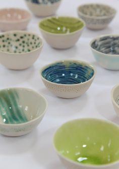 Porcelain bowls - Jill Walker