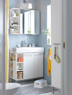 IKEA Lillangen Bathroom Makeover Inspiration post