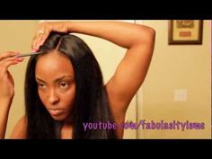 Girl get that 26 inch hair LAID and put on Neutral Makeup with a POP of Orange =) LOL