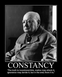 Motivational Posters: Winston Churchill Edition (Part I)