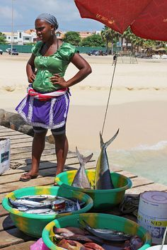 Santa Maria. Sal Cape Verde. by elsa11, via Flickr