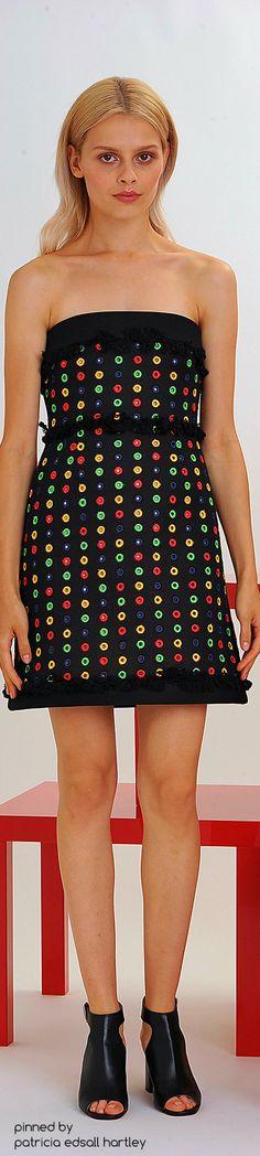 SPRING 2016 READY-TO-WEAR Lisa Perry Spring Summer 2016, Spring Summer Fashion, Short Dresses, Mini Dresses, Formal Dresses, Fashion Show, Fashion Tips, Strapless Dress Formal, Dress Skirt