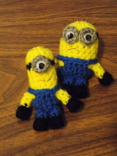 free pattern Crochet Novelty Pinterest Minions ...