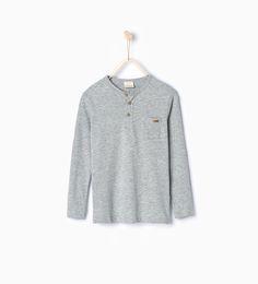 ZARA - KIDS - Organic cotton T-shirt- FOR DOMINIC