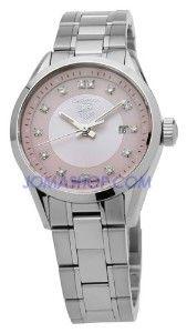 TAG Heuer Women's WV1417.BA0793 Carrera Diamond Pink... | review | Kaboodle