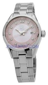 TAG Heuer Women's WV1417.BA0793 Carrera Diamond Pink... | review | Kaboodle