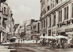 Klement-Gottwald-Straße (Leipziger Straße) mit Blick in Richtung Goethe-Kino (1978)