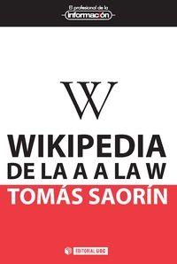 Wikipedia es una realidad que funciona, aunque en teoría pueda parecer un sueño irrealizable. Un puñado de entusiastas ha redefinido desde la nada el concepto clásico de enciclopedia y ha construido la fuente de referencia más usada de la historia. Wikipedia es al mismo tiempo contenido y personas.