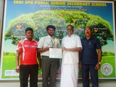 South Zonal Level Taekwondo Tournament between CBSE Schools Held at Alpine Public School,Bangalore on October 05,06&07, 2015. Schools from Tamilnadu, Kerala, Pondicherry, Andhra Pradesh & Karnataka were participated, SRRI SPK PUBLIC SENIOR SECONDARY SCHOOL Student H.HARIVIN Class Of X Std Participated in 75 KG(Under 19) Category , Won a GOLD MEDAL (I Place) and selected for National Level Taekwondo. The Student was appreciated by Correspondent,Principal, Staff and Students.