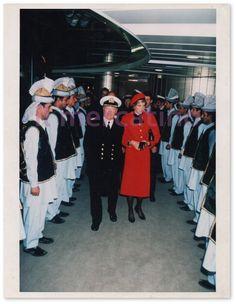 Foto Lady Diana - Inaugurazione della Royal Princess