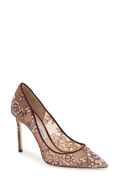 Jimmy Choo 'Romy' Lace Pump (Women) available at #Nordstrom