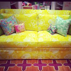 Lilly Pulitzer Charlotte- love pink and yellow
