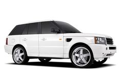 i love white range rovers