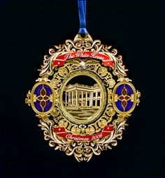 The 2006 White House Christmas Ornament Honors Administration Of 21st President United
