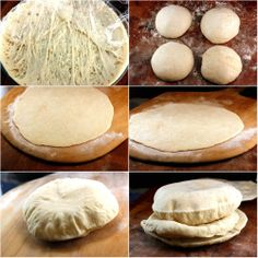 Baked Pita Breads