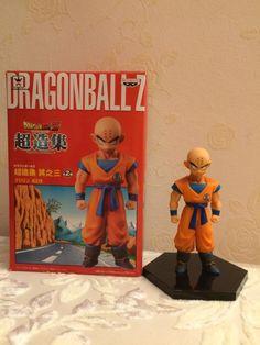 Anime Dragon Ball Z Super Krillin Kuririn PVC Action Figure Collectible Model Toy 12cm KT1833 #Affiliate