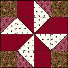 Quilt Magazine | Quilt Magazine » Blog Archive » QUILT: Aug/Sept 2011 – Pinwheel Block