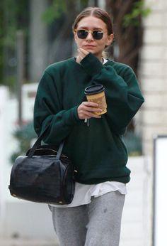 Get Ashley Olsen's Post-Workout Look