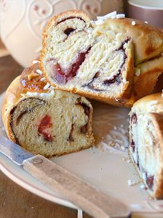 Dolci a go go Bread Recipes, Baking Recipes, Japanese Bread, Cooking Cake, Italy Food, Sweet Bakery, Pan Dulce, Galette, Easter Recipes