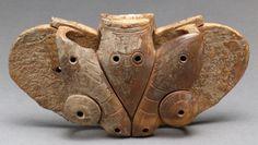 THE MET -- Winged Object (harpoon counterweight?) Old Bearing Sea (Alaska) 2nd-3rd century