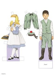 Paper Dolls~Childrens Fashions From Harper - Bonnie Jones - Álbumes web de Picasa