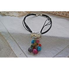 Rainbow necklace.