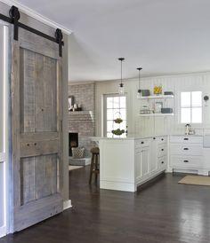 kitchel kitchen barn door