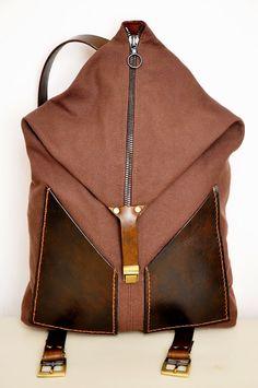 Муза на плечике: Рюкзак .. и ремень. Учусь.