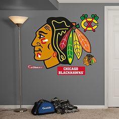 Nhl Chicago Blackhawks Logo Fathead Wall Decal Real Big Http Www