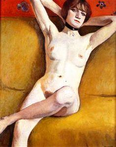Nude on a Divan - Albert Marquet