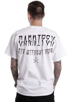 Carnifex - CFXDM White - T-Shirt
