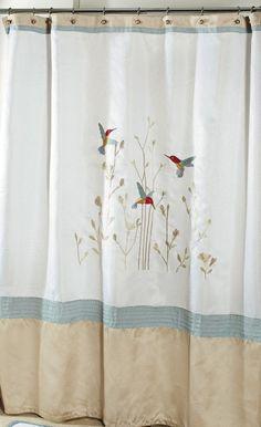 Colibri Hummingbird Shower Curtain $36.95
