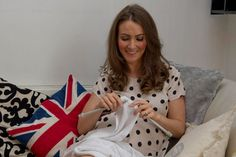 Kate Middleton, Duchess of Cambridge, is a knitter.