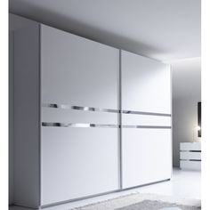 Szafa włoska CROMA drzwi przesuwne 275/64/218 Bedroom Furniture Design, Home Room Design, Luxury Bedroom Design, Bedroom Cupboard Designs, Bed Furniture Design, Bedroom Closet Design, Wardrobe Door Designs, Sliding Door Wardrobe Designs, Wardrobe Room