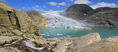 Botnabrea Glacier, Folgefonna National Park, Norway