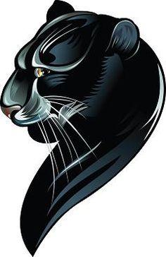 Black Panther Tattoo Design