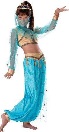 Mystical Genie Costume for Girls - Party City