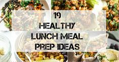 It's round up time gain! I have been meaning to get this round-up of healthy lunch meal prep ideas out for SO LONG now, and it just hasn't happened. But here I am today, and it's ready and there …