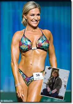 """Tosca Reno is in her 50's...INSANE RIGHT?!?! she had weight/health issues and turned it around and has won fitness competitions. She is also the writer of the """"Eat Clean"""" books :)"""