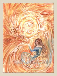 Elementals: Sun by ~rynkitty on deviantART