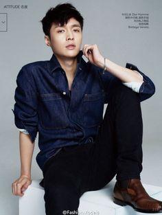EXO Lay Vogue China Magazine 2015 Photoshoot